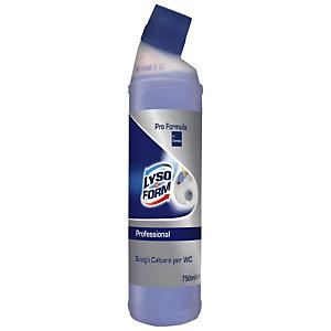 Lysoform Professional Sciogli Calcare per WC, Flacone 750 ml