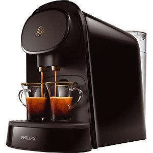 Machine à café à capsules doubles Philips, coloris noir