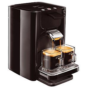 Machine à café à dosettes SENSEO® Quadrante Noir (un détartrant Senseo offert)