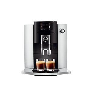 Machine à café E6 JURA + EN CADEAU : 3 paquets de café grains Méo 1 Kg + 6 tasses et sous tasses 9cl + 6 tasses et sous tasses 20 cl