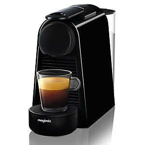 MAGIMIX Machine à café à capsules Nespresso Essenza Mini 11368- Noir
