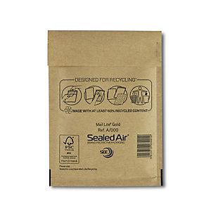 Mail Lite® Bolsa de papel de burbujas nº 11 Kraft marrón