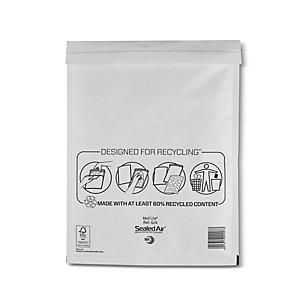 Mail Lite® Bolsa de papel de burbujas nº 17 Kraft blanco