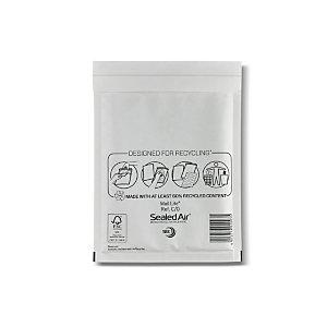 Mail Lite® Busta postale imbottita Bianco 150x210 mm A bolle d'aria Adesivo (confezione 100 pezzi)