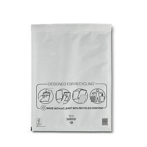 Mail Lite® Busta postale imbottita a bolle d'aria Bianco 350x470 mm Carta Kraft Chiusura adesiva (confezione 50 pezzi)