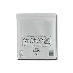 Mail Lite® Pochette matelassée bulles Sealed Air - 22 x 26 cm - Boîte de 10
