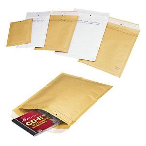 Mail Lite® Sobre con burbujas, 180 x 160 mm, AirCap®, autoadhesivo, papel kraft, dorado