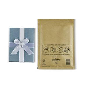 Mail Lite® Sobre con burbujas, D1, 260 mm x 180 mm, acolchado deslizante, cierre autosellable, papel kraft, dorado