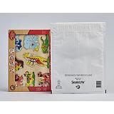 Mail Lite Tuff® Tuff, Sobre con burbujas, 330 x 240mm, burbujas, autoadhesivo, polietileno, blanco