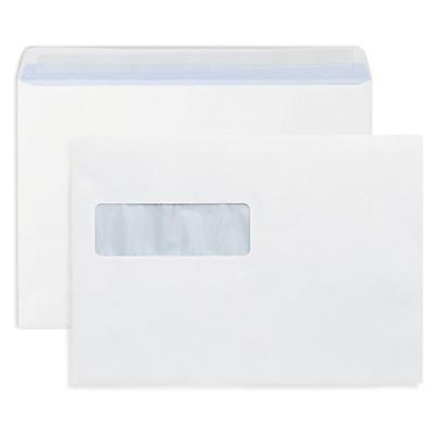 Mailman - papperskuvert med självhäftande täckremsa