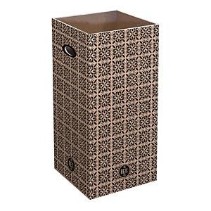 Maiolica Ricambio fusto, 28 x 28 x 70 cm, Capacità 60 l