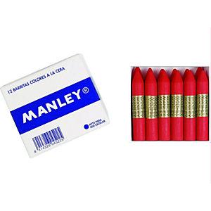MANLEY Ceras Nº 9 rojo escarlata