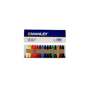 MANLEY Ceras de colores