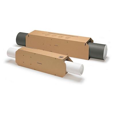 Fourreau carton pour tube rond##Manschette für Versandrohre