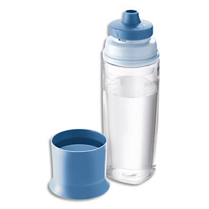 MAPED Bouteille 500 ml Concept Adulte Bleu orage,en tritan et PP, sans BPA, système anti-goutte