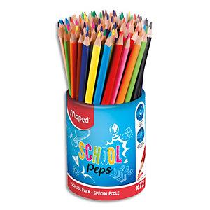 MAPED Pot de 72 crayons de couleur ColorPeps en pot