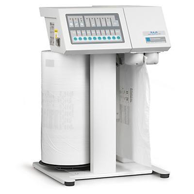 Máquina Instapacker™ para a produção de material de enchimento
