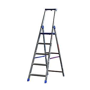 MARCHETTI Scala professionale Climb Evolution - 5 gradini - alluminio - Marchetti