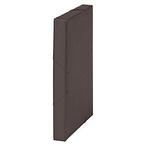 MARIOLA Carpeta de proyectos, Folio, cartón gofrado rugoso, 270 hojas, lomo 30 mm, negro