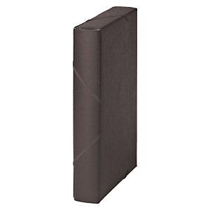 MARIOLA Carpeta de proyectos, Folio, cartón gofrado rugoso, 450 hojas, lomo 50 mm, negro