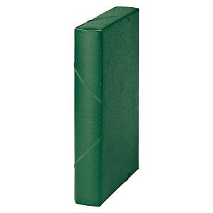 MARIOLA Carpeta de proyectos, Folio, cartón gofrado rugoso, 450 hojas, lomo 50 mm, verde