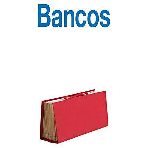 MARIOLA Clasificador acordeón Bancos rojo