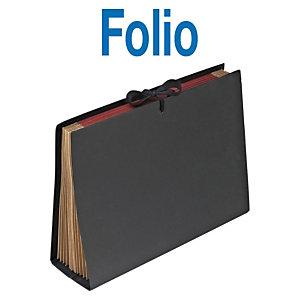 MARIOLA Clasificador acordeón Folio negro