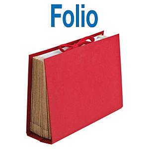 MARIOLA Clasificador acordeón Folio rojo