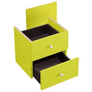 Marque generique Bloc tiroirs Multicases Color - Vert