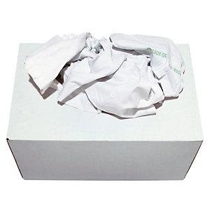 Marque generique Boîte distributrice Chiffon blanc supérieur - Boîte de 10 kg