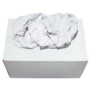 Marque generique Boîte distributrice Chiffon blancs optique - Boîte de 10 kg