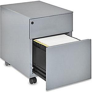 Marque generique Caisson mobile Universal - 2 tiroirs -  Gris
