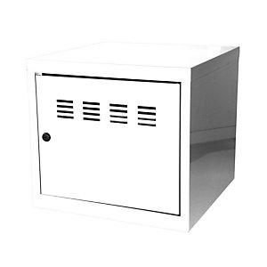 Marque generique Casier de bureau individuel juxtaposable CUBE  - H. 36 cm Blanc