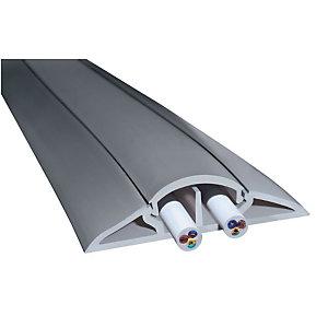 Marque generique Protège-câbles longueur 3m 2x12mm gris