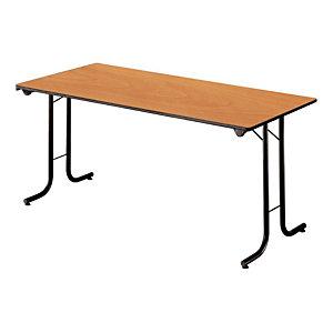 Marque generique Table pliante modulaire Rectangle L. 160 x P. 70 cm - Poirier