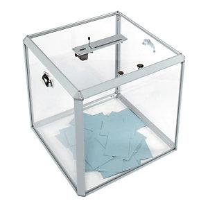 Marque generique Urne électorale - 1200 bulletins avec compteur