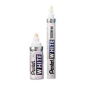 Marqueur à peinture indélébile opaque blanc White PENTEL