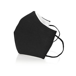 Mascarilla Higiénica Reutilizable Plexcom, negra