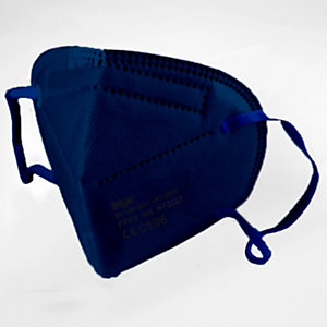 Mascarilla de protección FFP2, color azul marino
