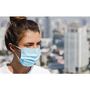 Mascherine mediche monouso MM-005, Dispositivo medico classe IIR (Confezione 5 buste da 10 mascherine)