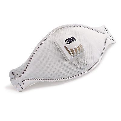 Masque antipoussière 3M avec soupape, pliable##Stofmasker 3M met ventiel, plooibaar