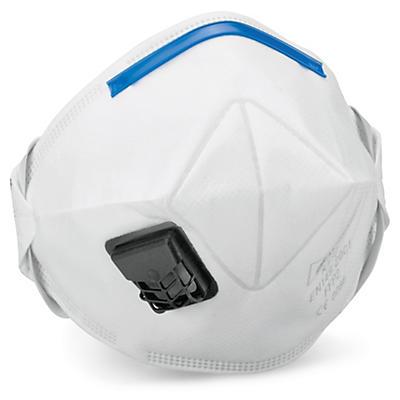 Masque antipoussière avec soupape FFP2