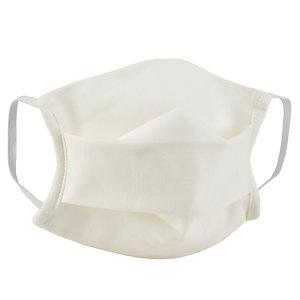 Masque de protection lavable 10 fois en tissu écru certifié UNS1 - Taille adulte