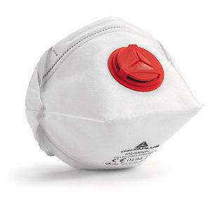 Masque respiratoire antipoussière avec soupape FFP3