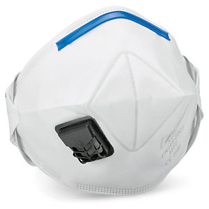 Masque respiratoire antipoussière FFP2 avec soupape