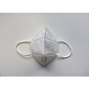 Masques de protection respiratoire FFP2 NR Norme CE EN149 - Blanc - Boîte de 5