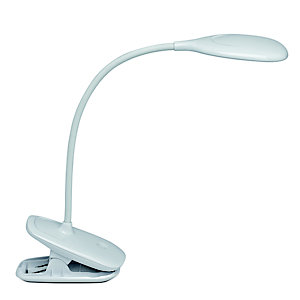 Maul Lampe portable LED Mauljack à pince, rechargeable, réglable sur 3 niveaux d'intensité d'éclairage, Durée 20 000h, Blanc