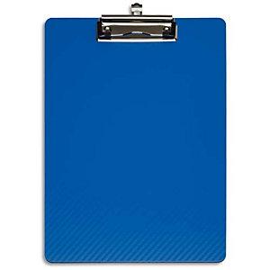 MAUL Porte-bloc en PP flexible. Résiste à l'eau, -10°C à +60°C. Coloris Bleu. Dim L31,5 x H1,2 x P22,5 cm
