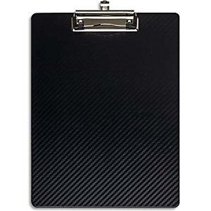 MAUL Porte-bloc en PP flexible. Résiste à l'eau, -10°C à +60°C. Coloris Noir. Dim L31,5 x H1,2 x P22,5 cm