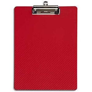 MAUL Porte-bloc en PP flexible. Résiste à l'eau, -10°C à +60°C. Rouge. Dim. L31,5 x H1,2 x P22,5 cm